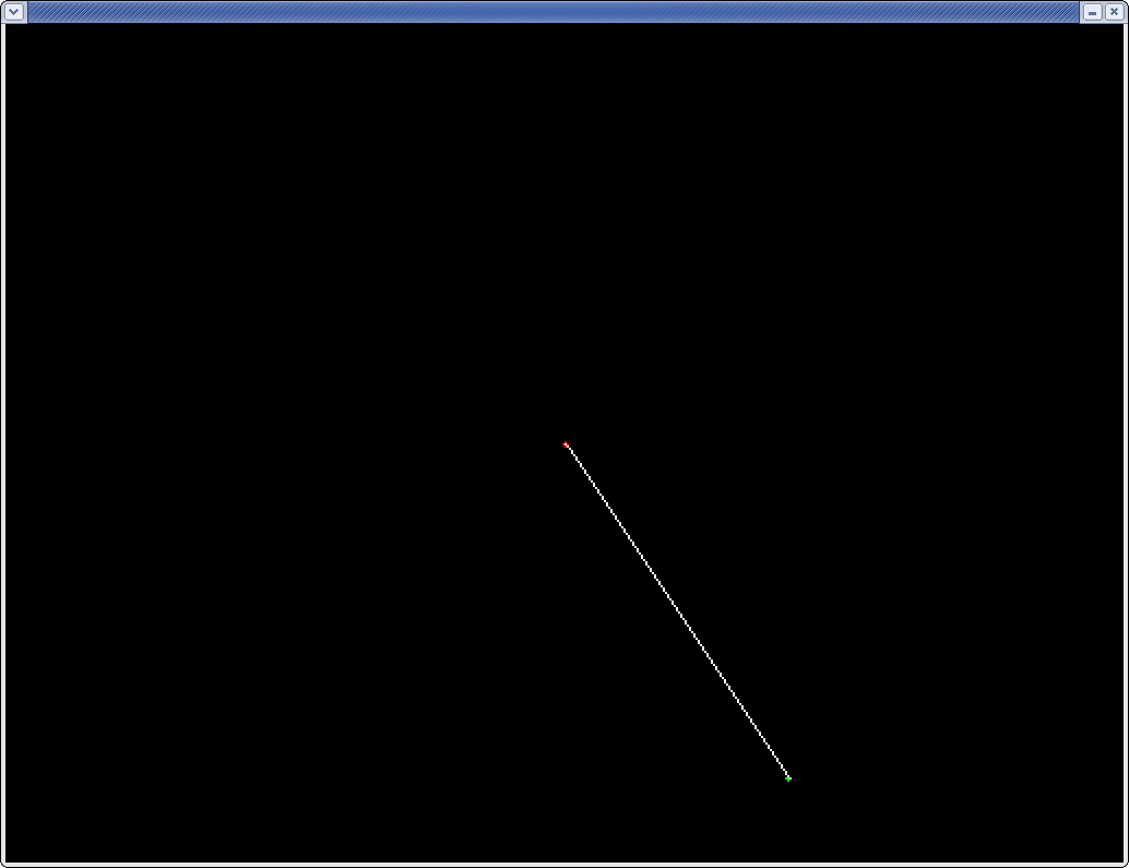 Line Drawing Using Dda And Bresenham : Labbar i datorgrafik