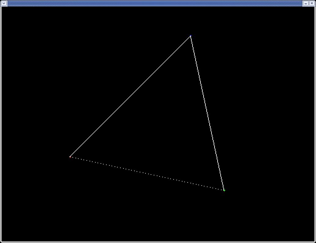 Dda Line Drawing Algorithm Steps : Labbar i datorgrafik