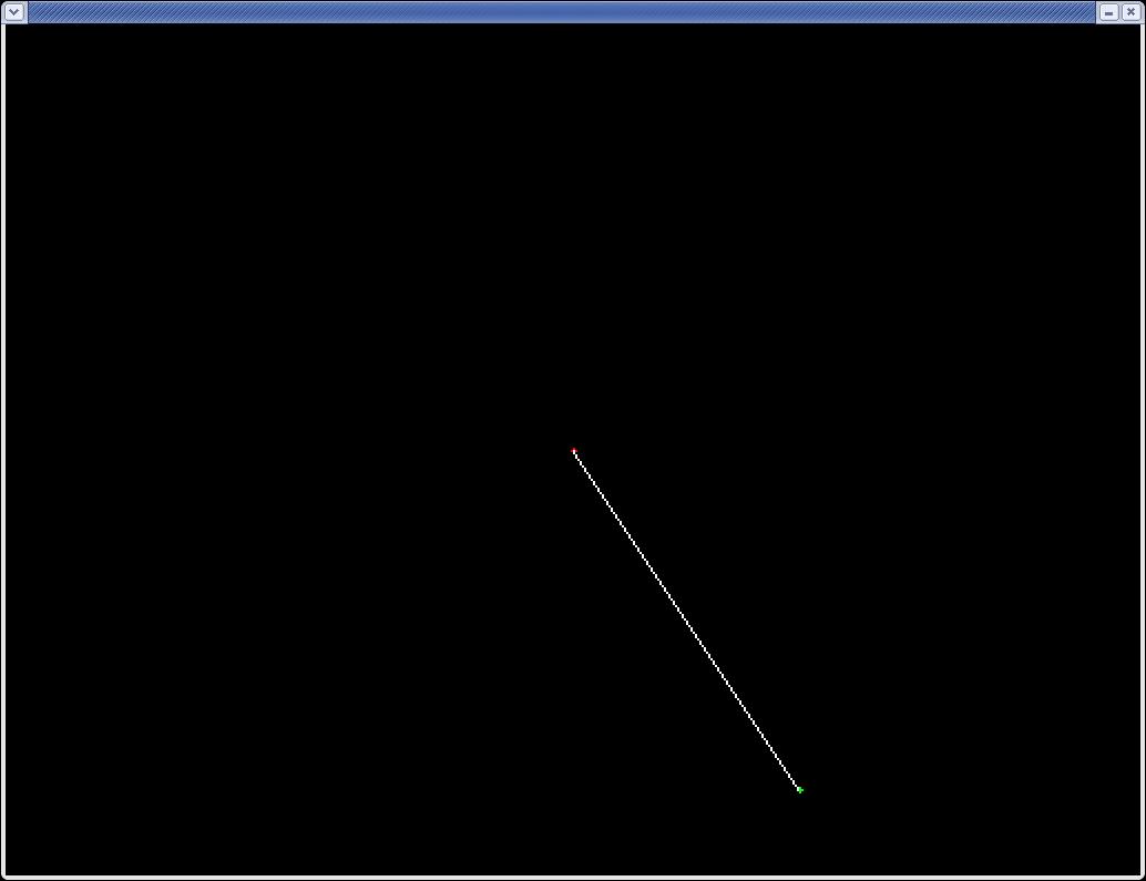 Dda Line Drawing Algorithm Using Cpp : Labbar i datorgrafik